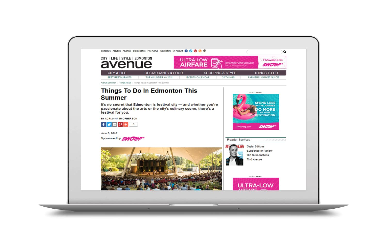 Avenue Edmonton Branded Content