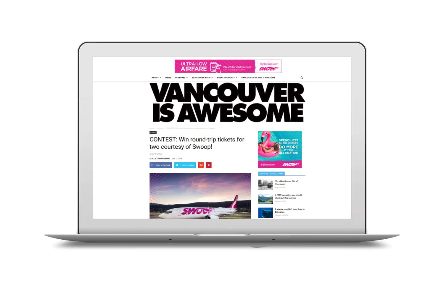 Vancouver is Awesome Sponsored Contest